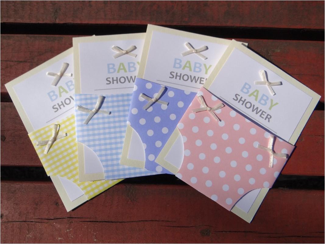 diy baby shower invites
