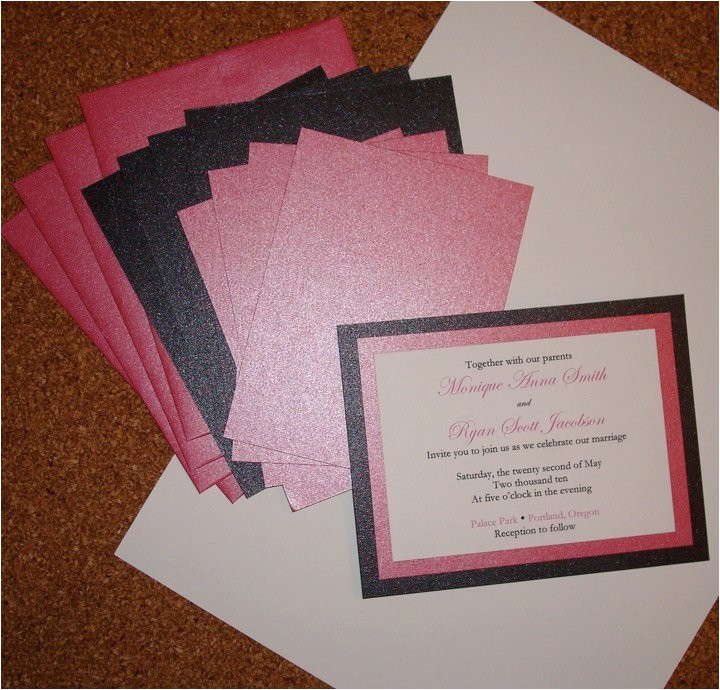 the advantages of do it yourself wedding invitations