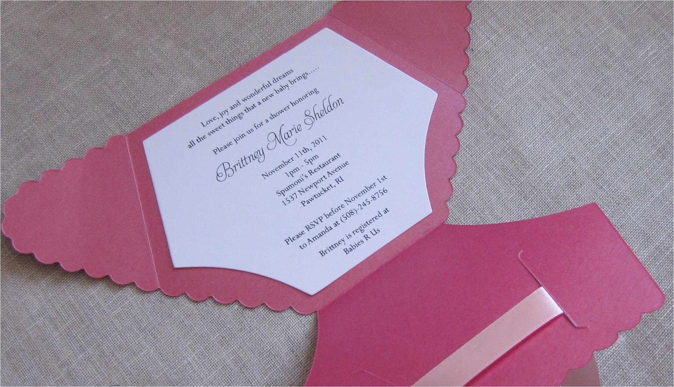 how to make baby shower invitations easy home made