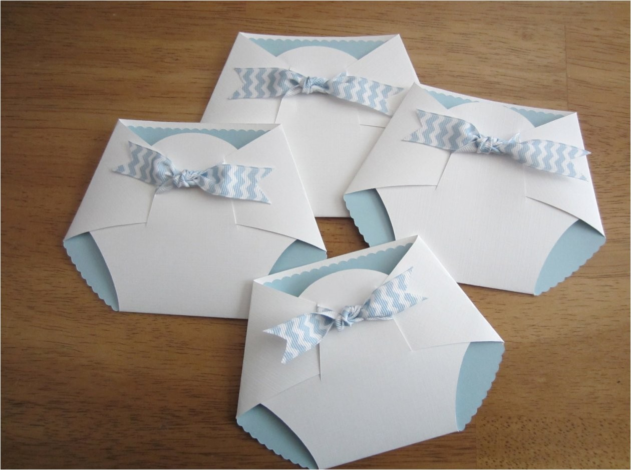 diy baby shower invitations and ideas how to make easy