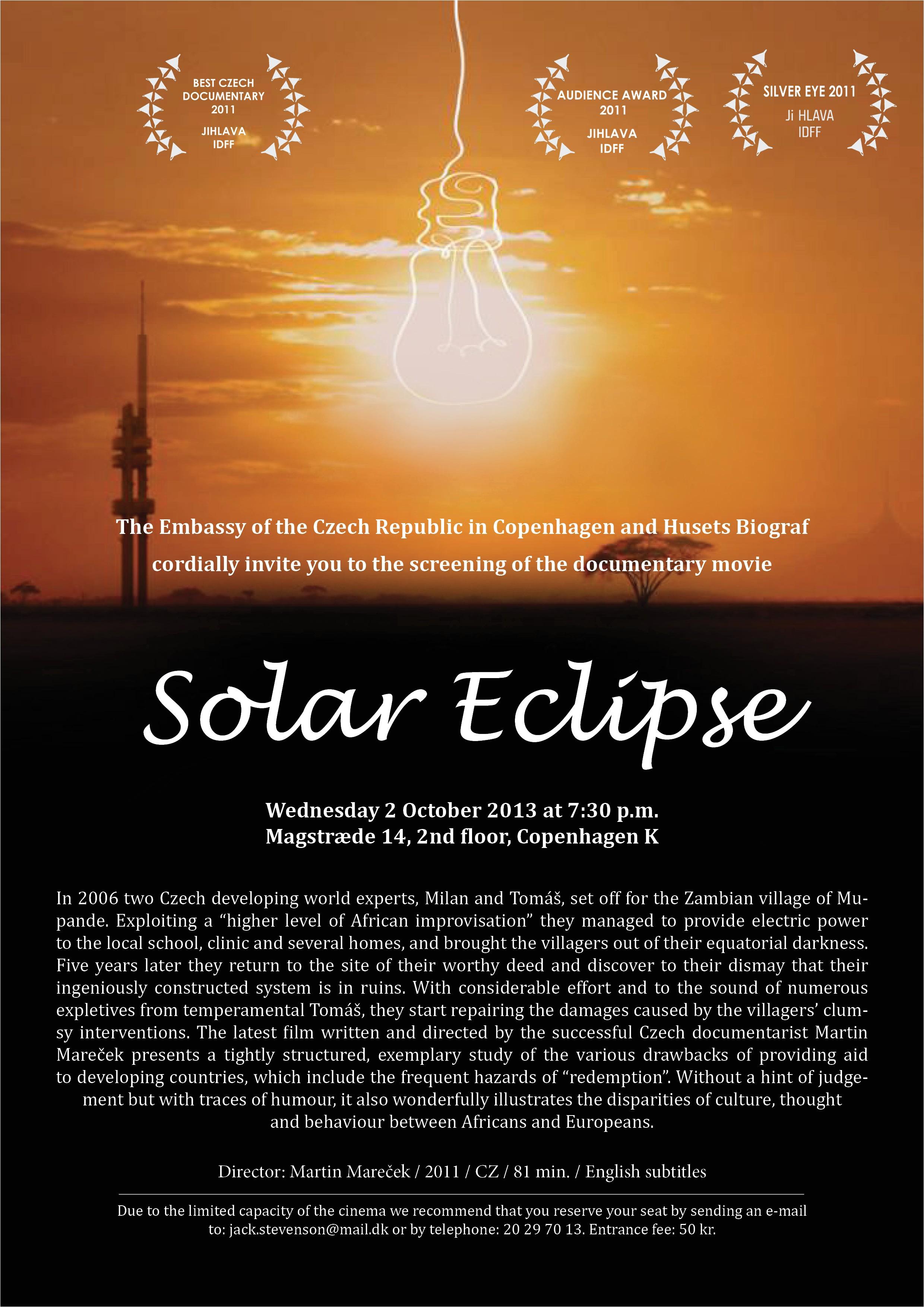 screening of the documentary solar