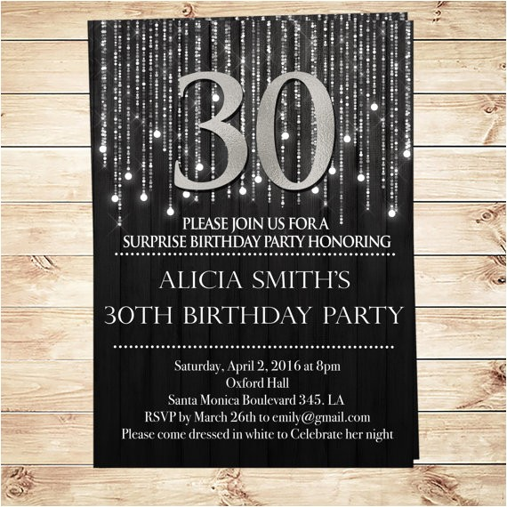 custom sweet party birthday invitations printable