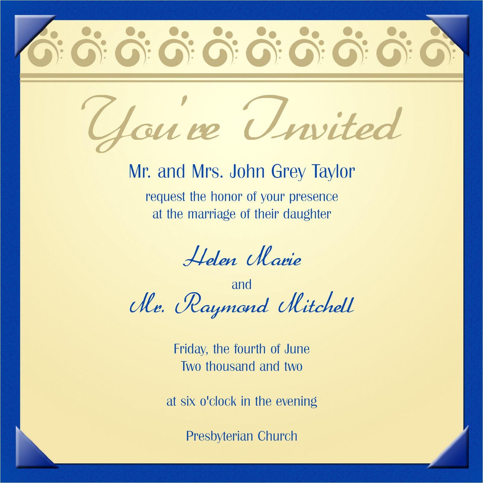 Electronic Bridal Shower Invitation Templates Electronic Invitation Template