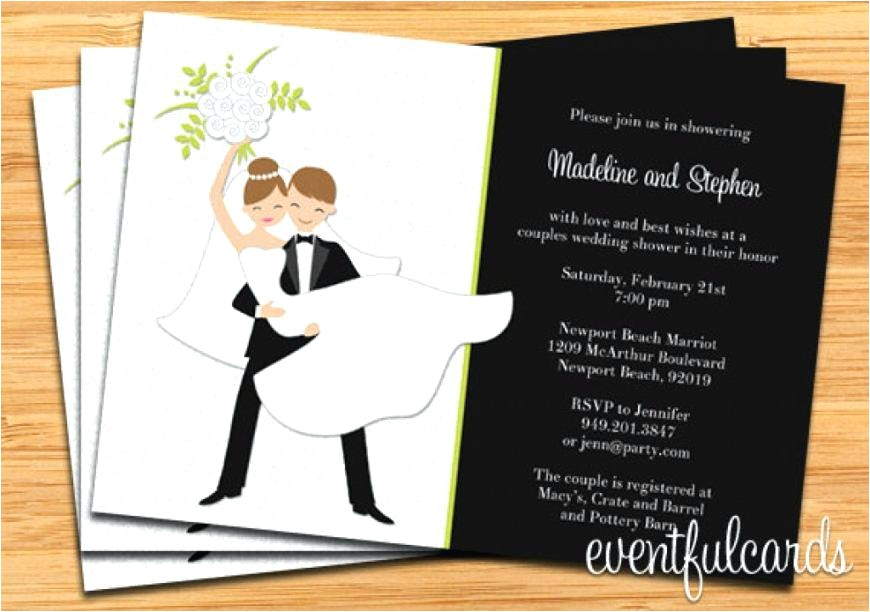 electronic bridal shower invitations