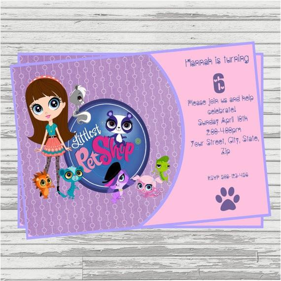 littlest pet shop digital birthday