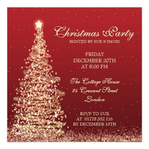 Elegant Christmas Party Invitations Free Christmas Invitation Templates Sample Templates