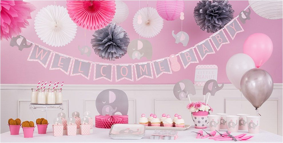 pink baby elephant baby shower party supplies topnav=true