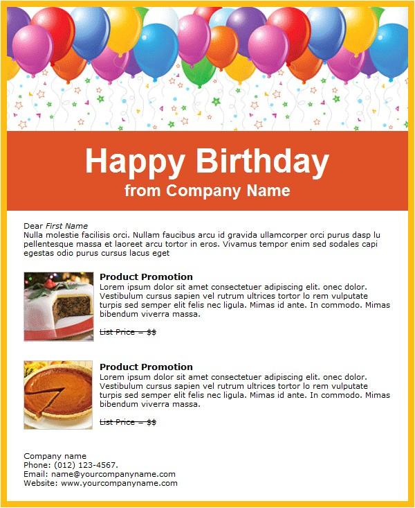 birthday invitation email templates