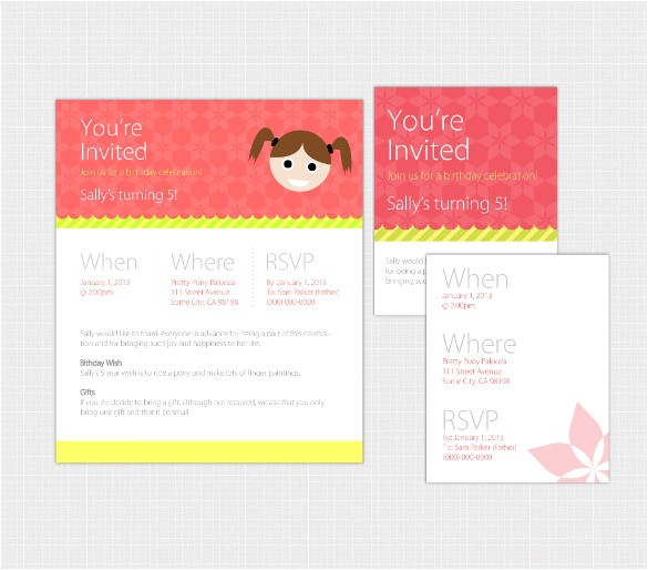 sample email birthday invitation