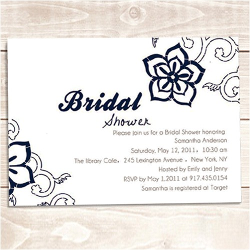 free bridal shower invitations for email