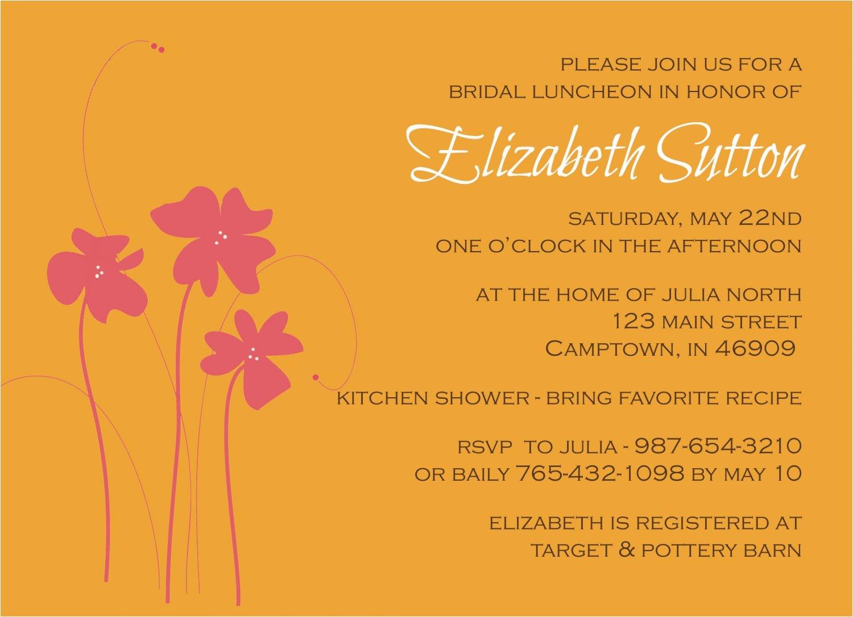 free customizable wedding bridal shower invitations