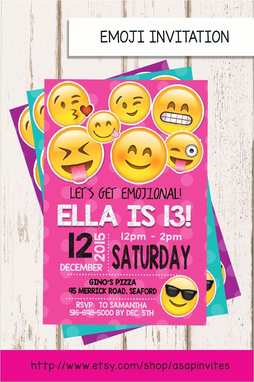 emoji birthday invitation emojis emoji