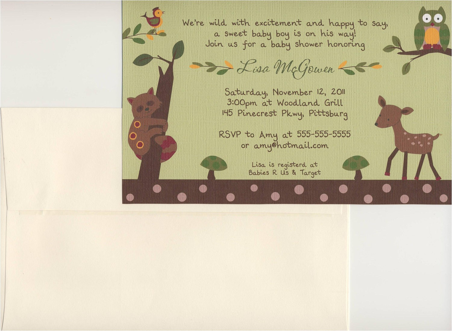 24 printed enchanted forest neutral baby