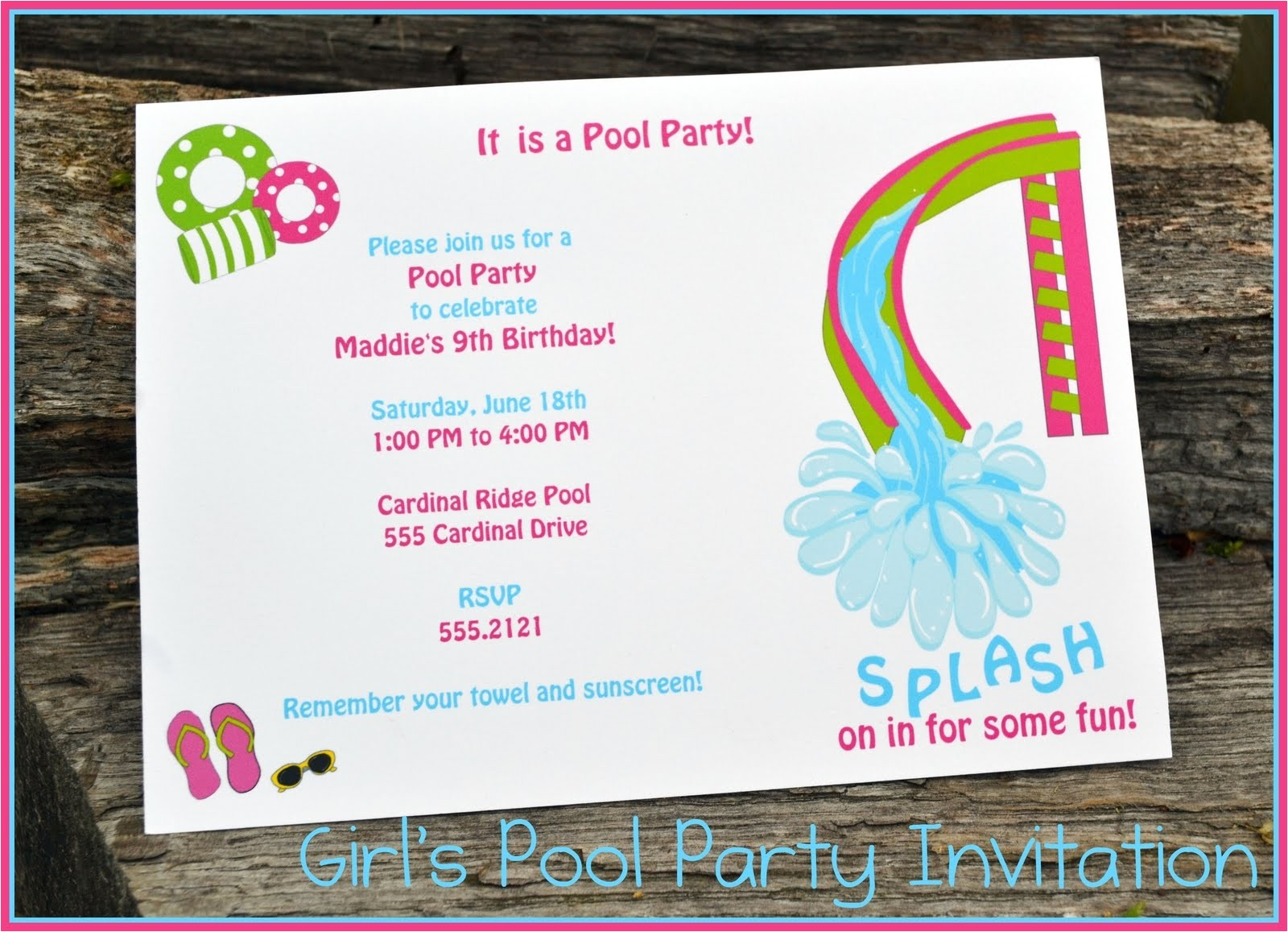 end of year party invitation wording