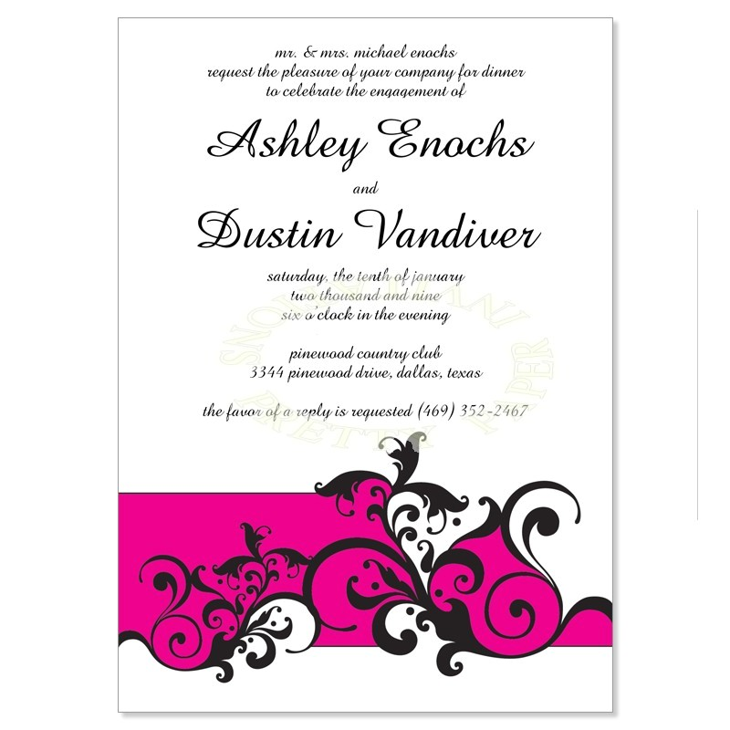 invitation templates engagement party