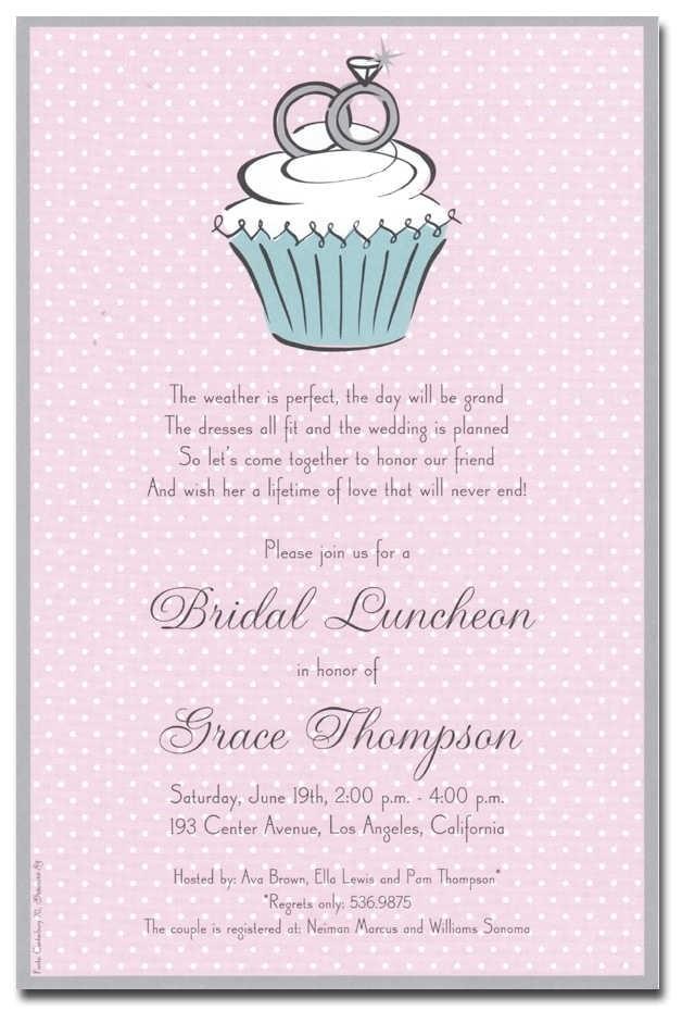 bridal shower invite etiquette template