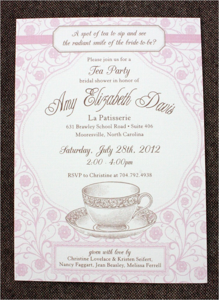 Etiquette for Bridal Shower Invites Awesome Bridal Shower Invitation Etiquette Rsvp Ideas