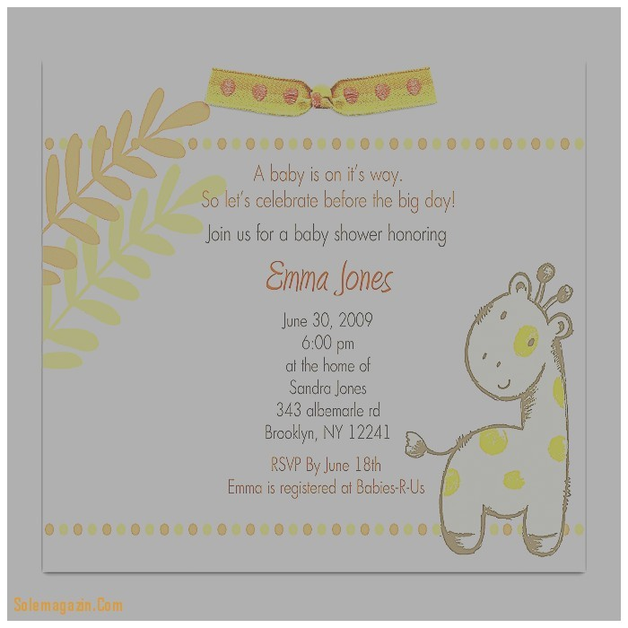 baby shower invitation fresh baby shower invite etiquette baby