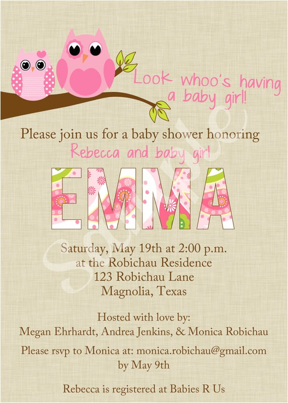 Etsy Owl Baby Shower Invitations Unavailable Listing On Etsy