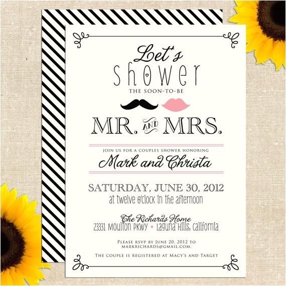 bridal shower invitations etsy template