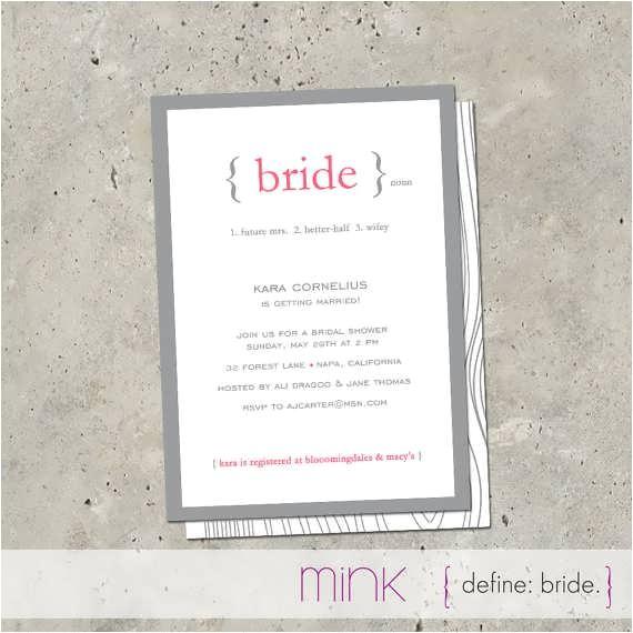 rustic bridal shower invitations etsy