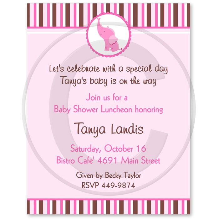 baby shower invitations wording examples