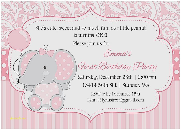 example of baby shower invitation
