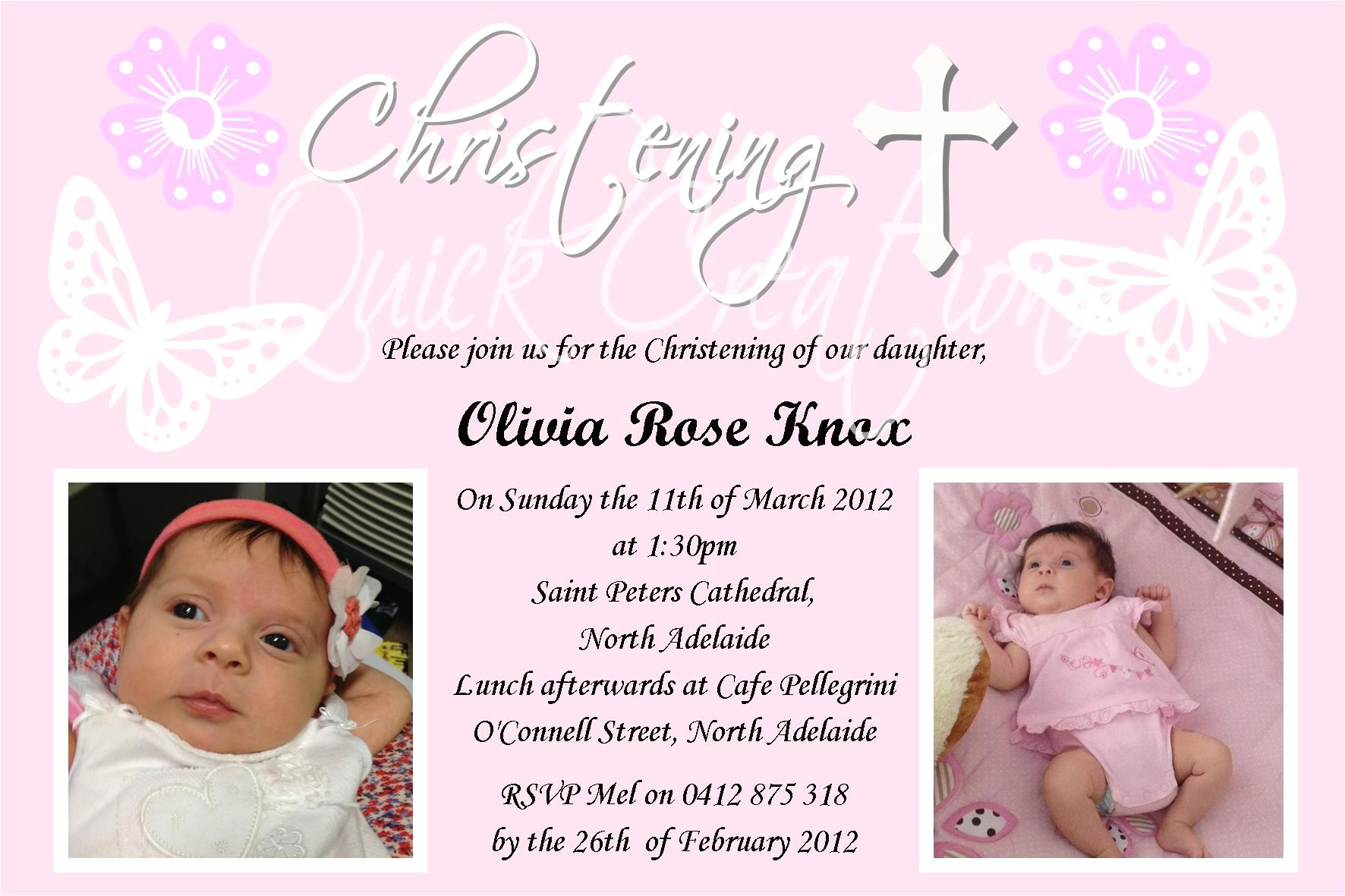 melissas daughters christening invitation example2