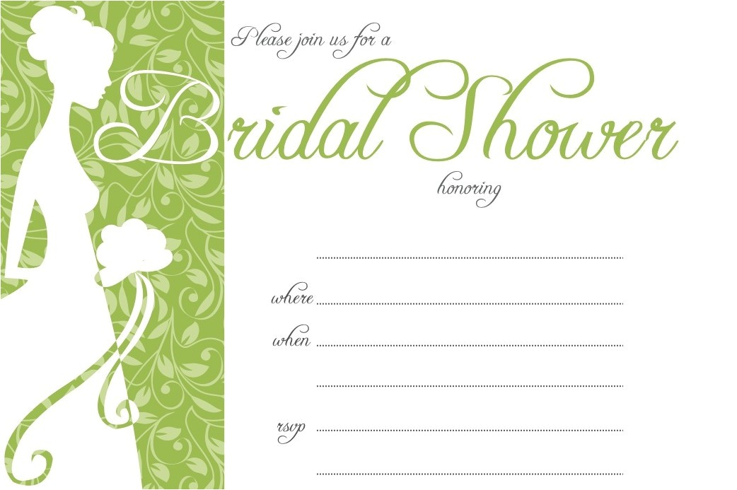 sample invitation for wedding shower