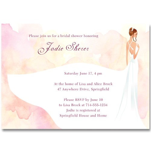 Exquisite Bridal Shower Invitations Bud Elegant Bridal Shower Invitations Ewbs038 as Low as