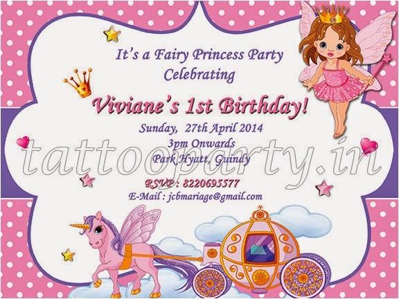 fairy theme party