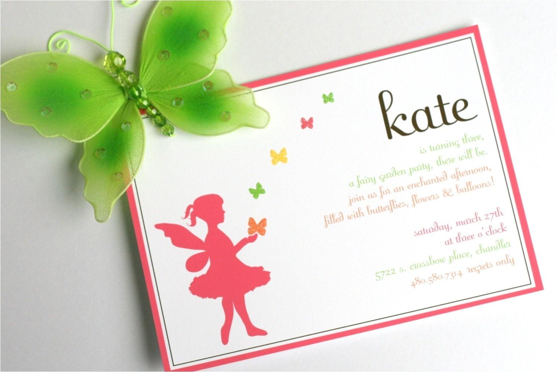 printable invitation design fairy garden