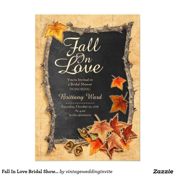 fall wedding invitations fall shower invitations