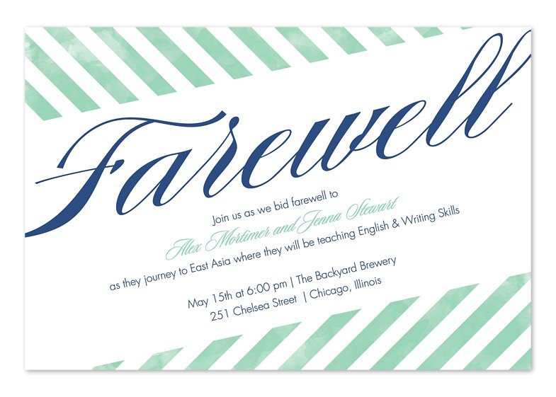 farewell party invitation wording for the office