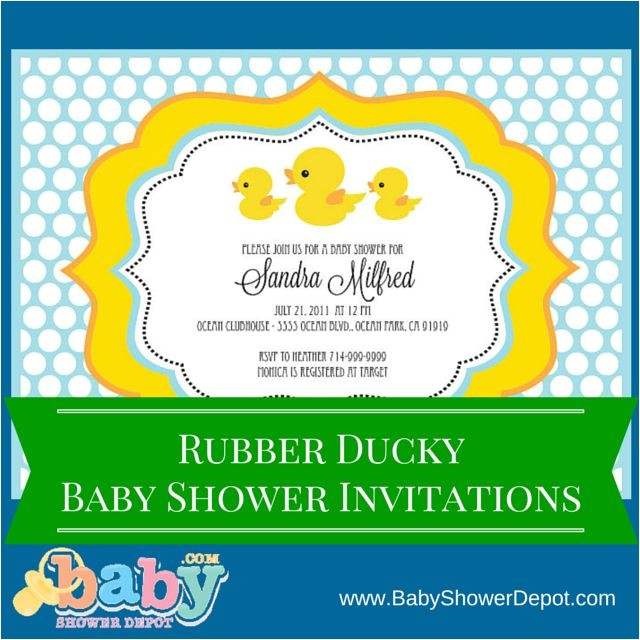 Fast Baby Shower Invitations 1000 Images About Baby Shower De Patito De Hule On