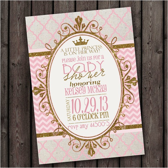 baby shower invitation fast ship