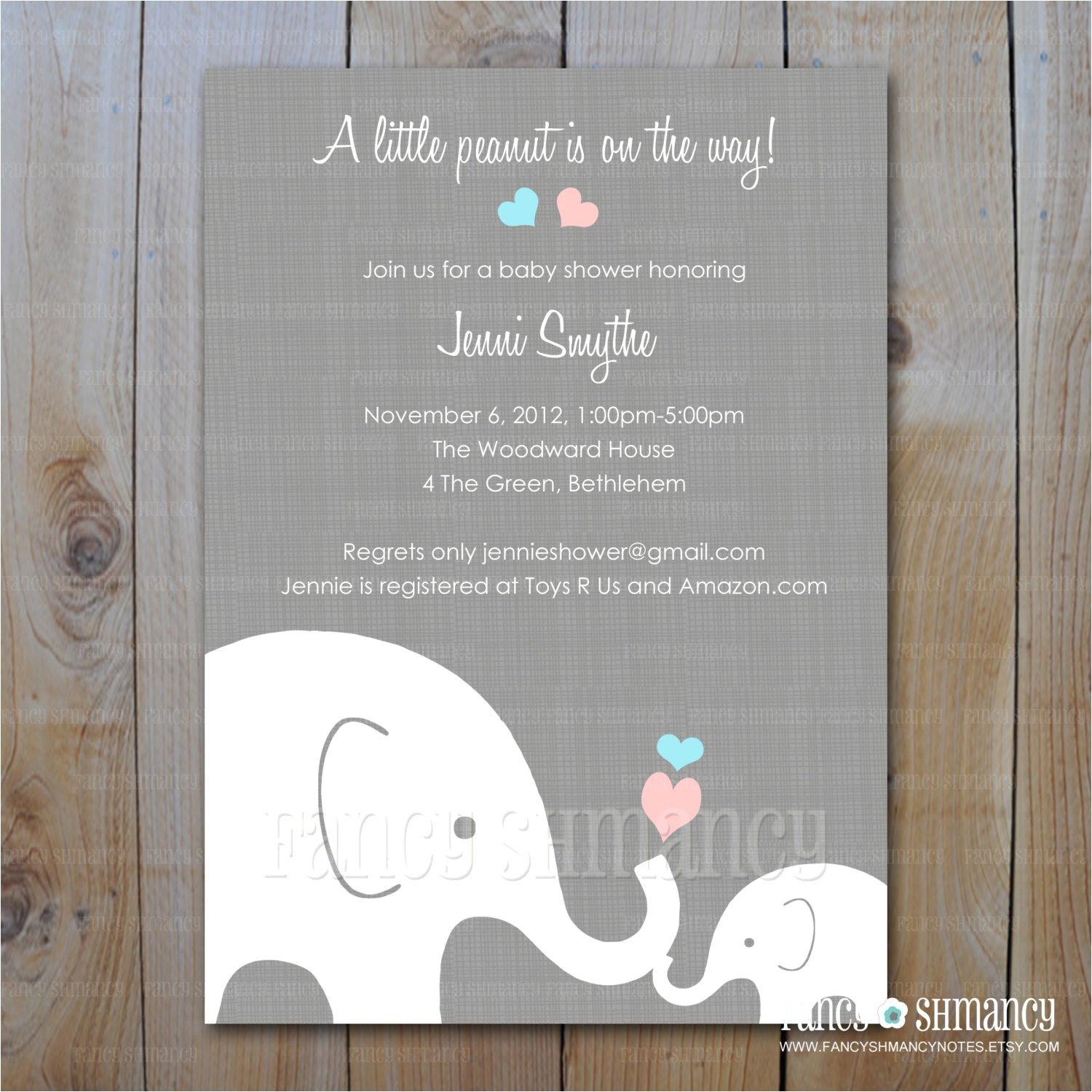 quick baby shower invitations