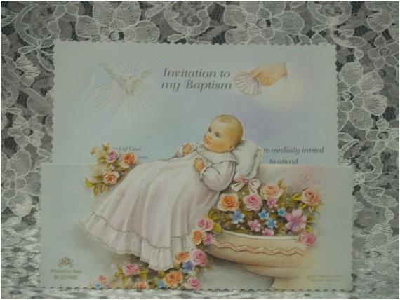 15 baptism invitations fine italian