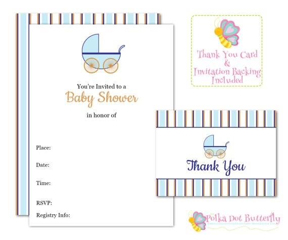 blank baby shower invitation fill in