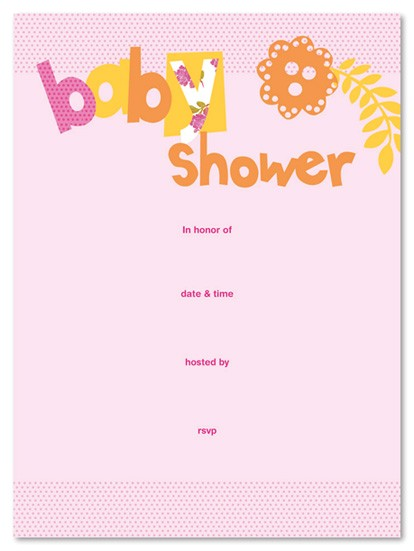Fill In the Blank Baby Shower Invitations Fill In Baby Shower Invitationns