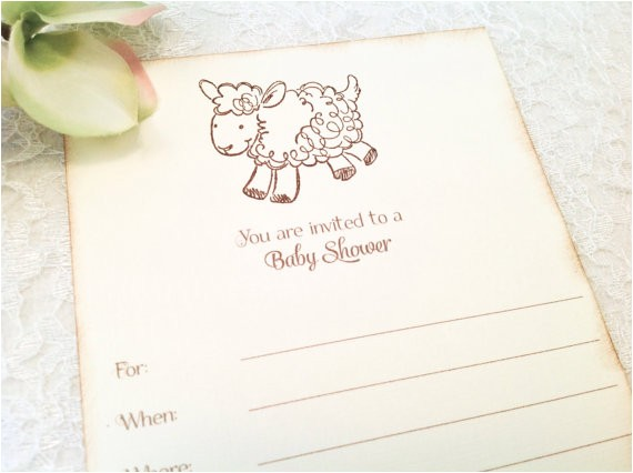 fill in blank baby shower invitations