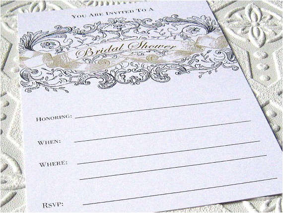 bridal shower invitations fill in blank