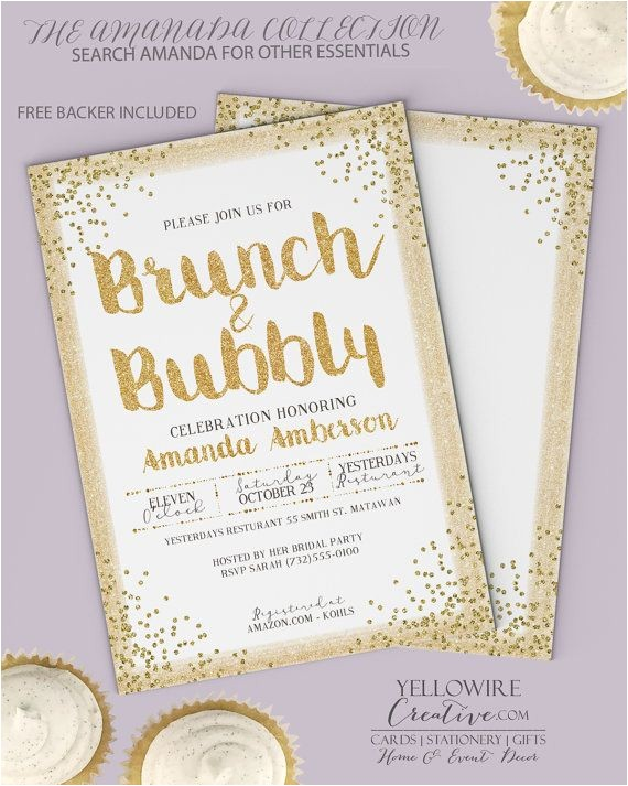 brunch invitations