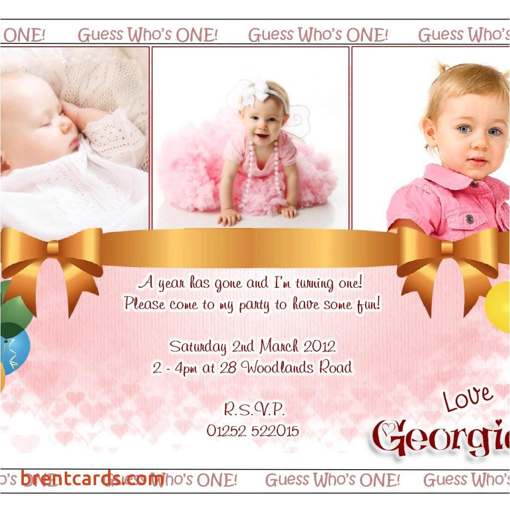 invitation card of first birthday in marathi