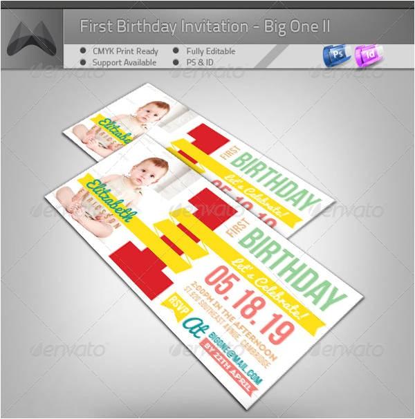 birthday invitation format