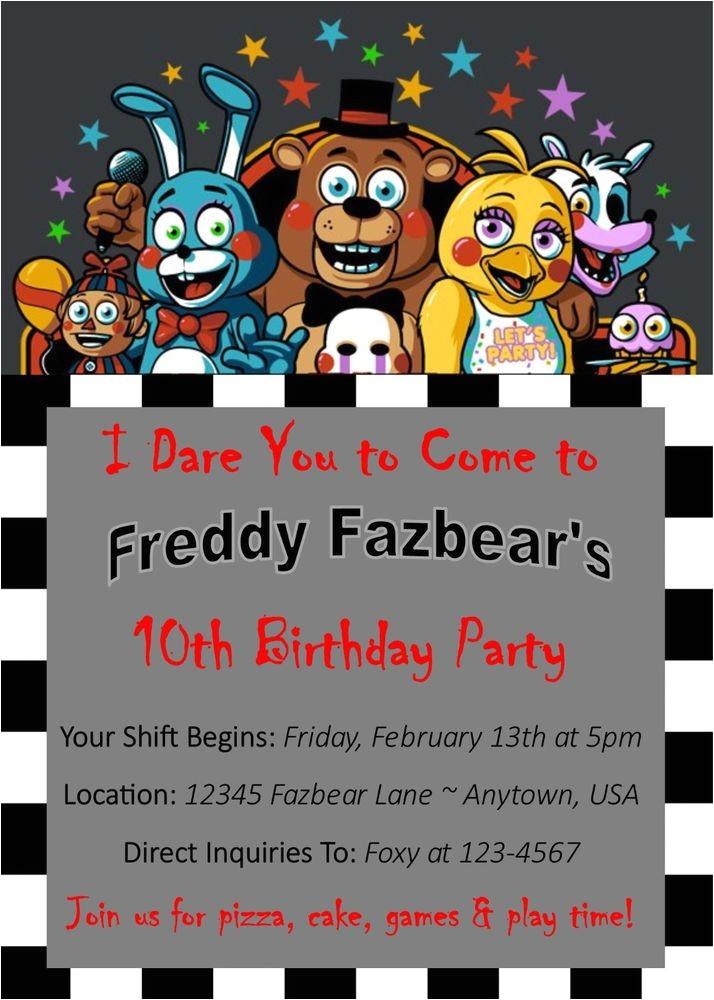 fnaf birthday