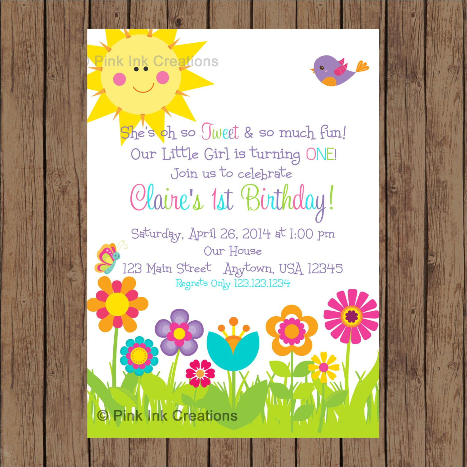 garden party invitation garden birthday