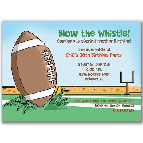 Football Birthday Party Invitation Wording Football Birthday Party Invitation Wording Http Www
