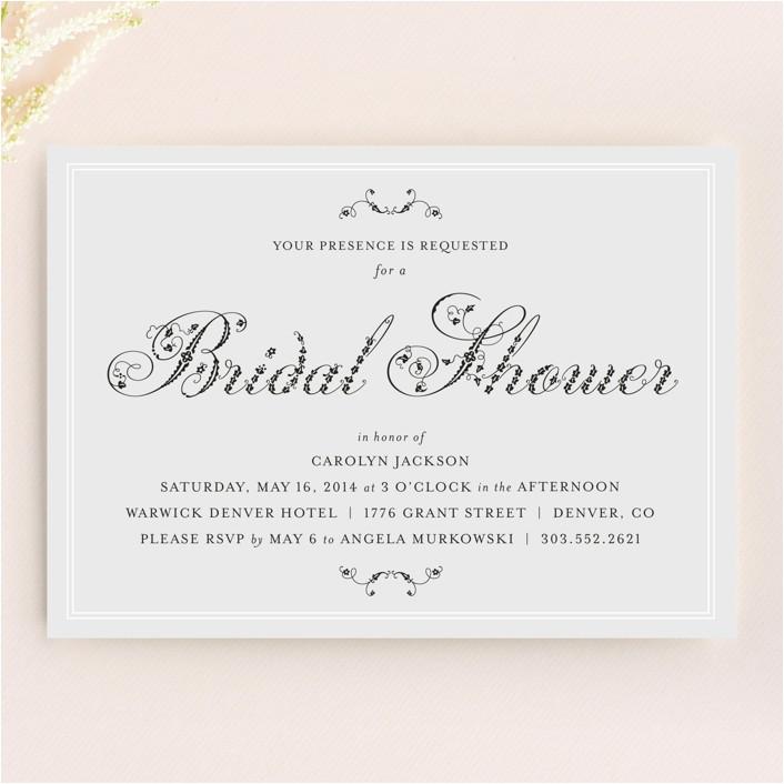 invitation says formal