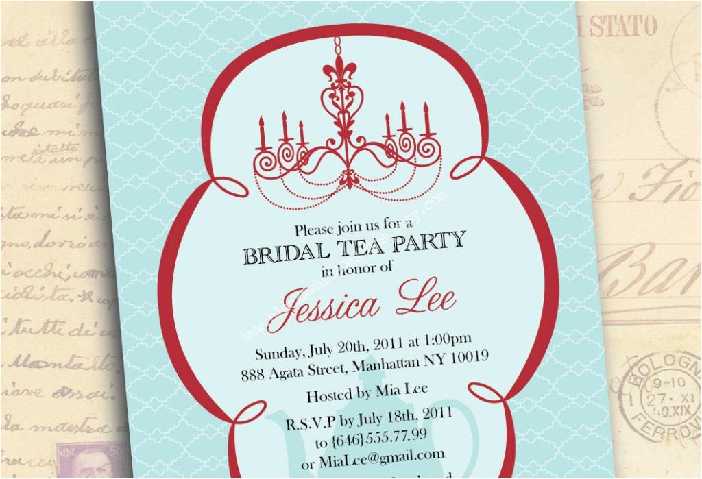things you must know about bridal shower invitation wording